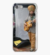 Street Performer - Nelson, New Zealand iPhone Case/Skin