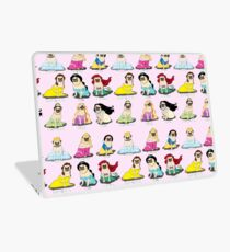 Pug Princesses Laptop Skin