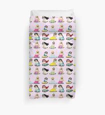 Pug Princesses Duvet Cover