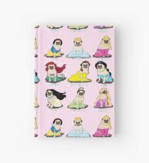 Pug Princesses Hardcover Journal