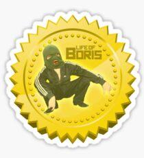 Gopnik Award Life Of Boris Slav Squat Sticker
