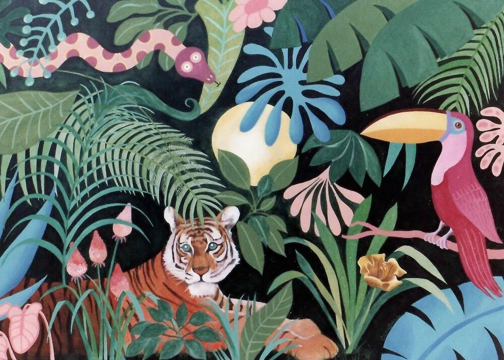 Rousseau Wuz Here by Gary  Crandall