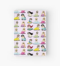 Pug Princesses Version 2 Hardcover Journal