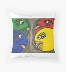 LAST ONE WINS  Throw Pillow
