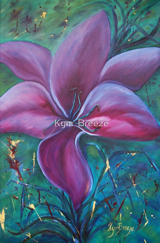 Deep Purple by Kym  Breeze
