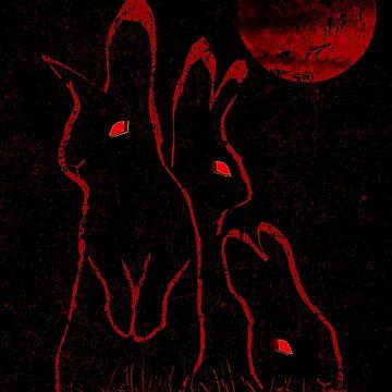 Evil Bunnies by Bronzarino