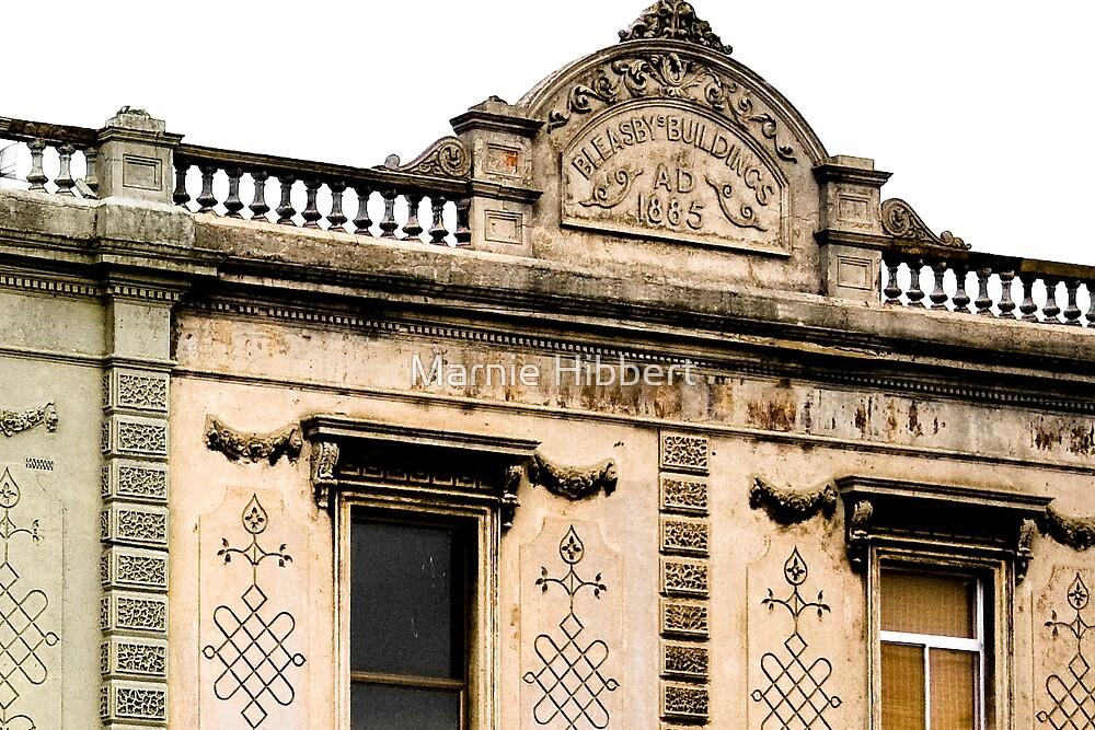 Bleasbys Buildings 1885 by Marnie Hibbert
