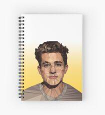 Charlie Puth Spiral Notebook