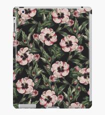 Retro Pink Floral II iPad Case/Skin