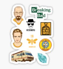 Breaking Bad Iconic Figures Combo Sticker