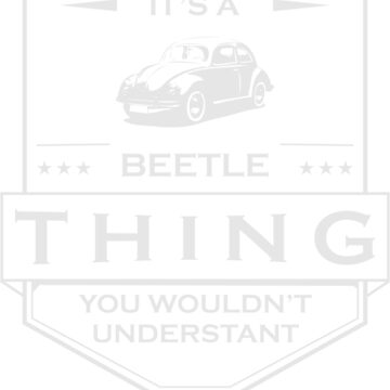 Its a beetle by busyokoy