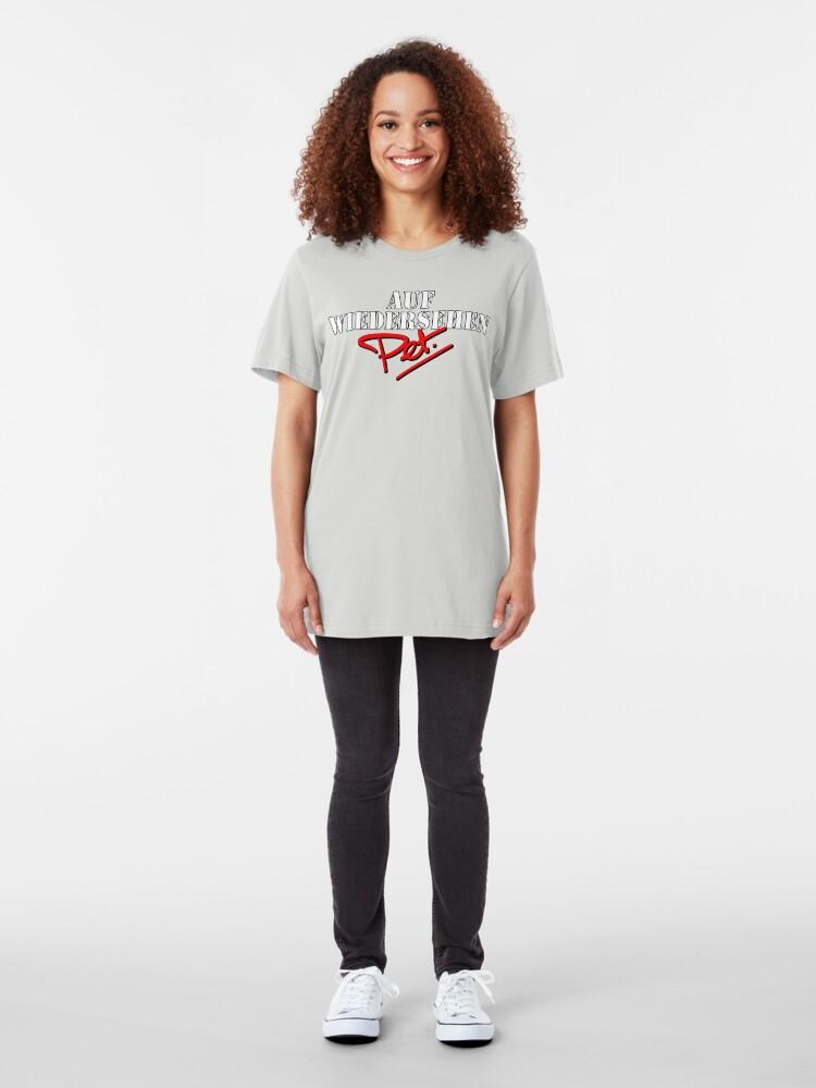 Alternate view of NDVH Auf Wiedersehen Pet Slim Fit T-Shirt