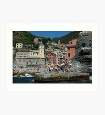 Cinque Terre Photo 1 Art Print