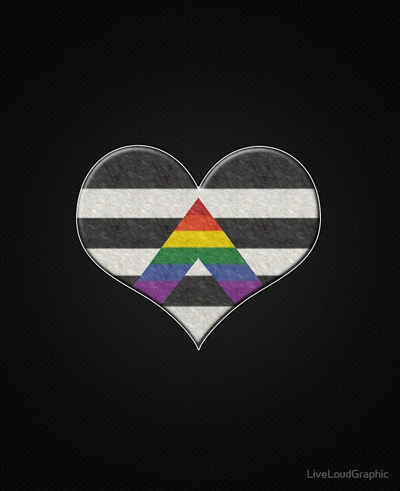 Ally Pride Heart by LiveLoudGraphic