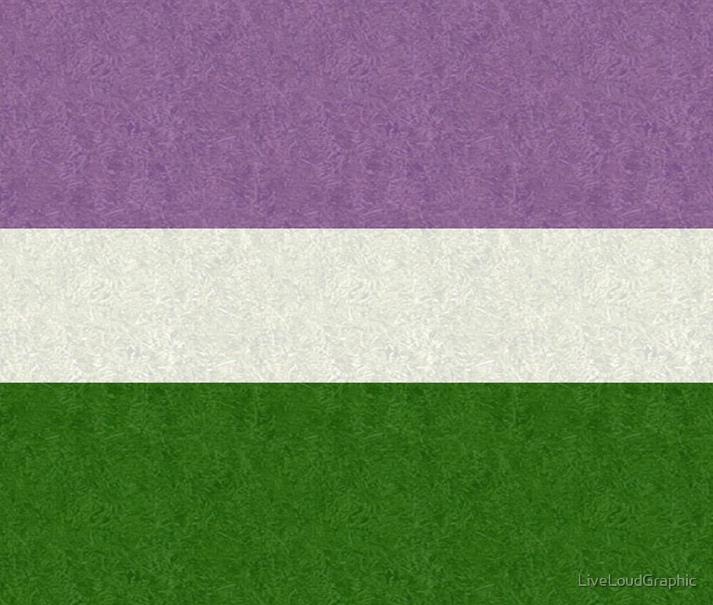 Genderqueer Flag by LiveLoudGraphic
