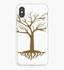 Showing roots iPhone Case/Skin