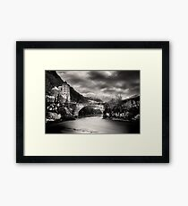 St-maurice Framed Print