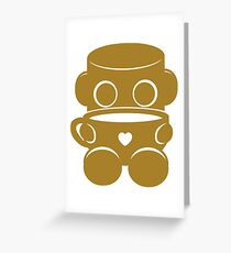 Tea & Story Time with the O'BOTs 2.0 Greeting Card