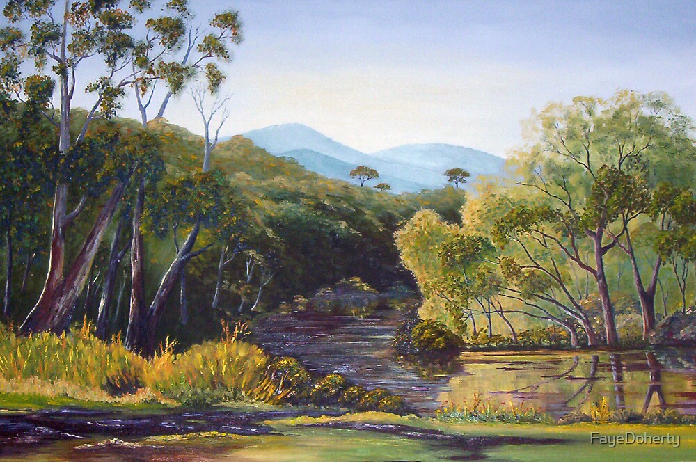 Mitta Mitta river by FayeDoherty
