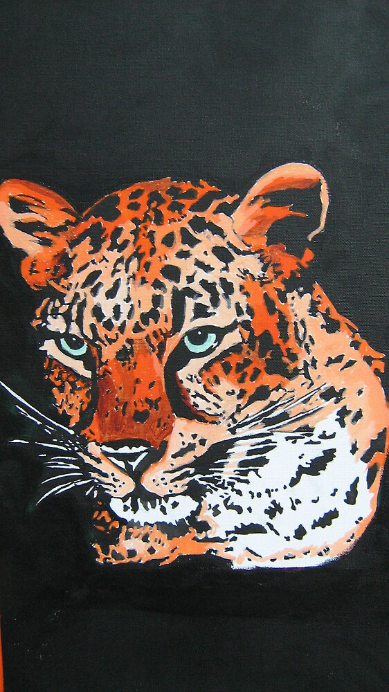 leopard by Duane Hurn