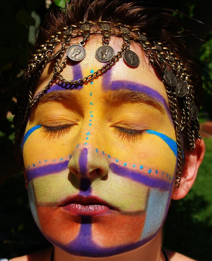 front of face paint by lauren lederman
