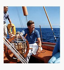 JFK  Photographic Print