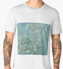 Almond Blossoms, Vincent Van Gogh Men's Premium T-Shirt
