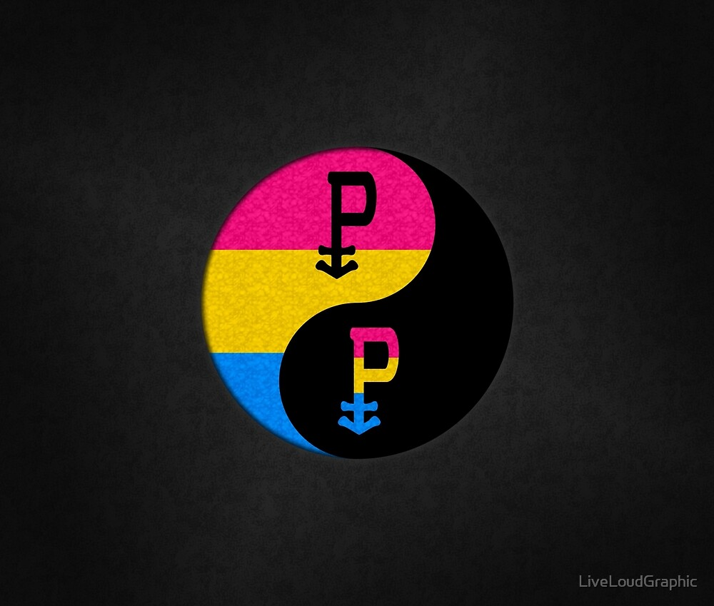 Pansexual Yin and Yang by LiveLoudGraphic