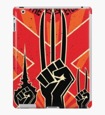 Join the R-Evolution! iPad Case/Skin