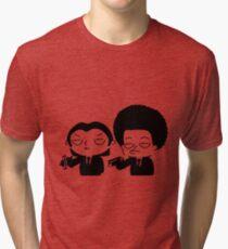 Stewie and Ralo - pulp fiction Tri-blend T-Shirt