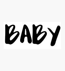 BABY Photographic Print