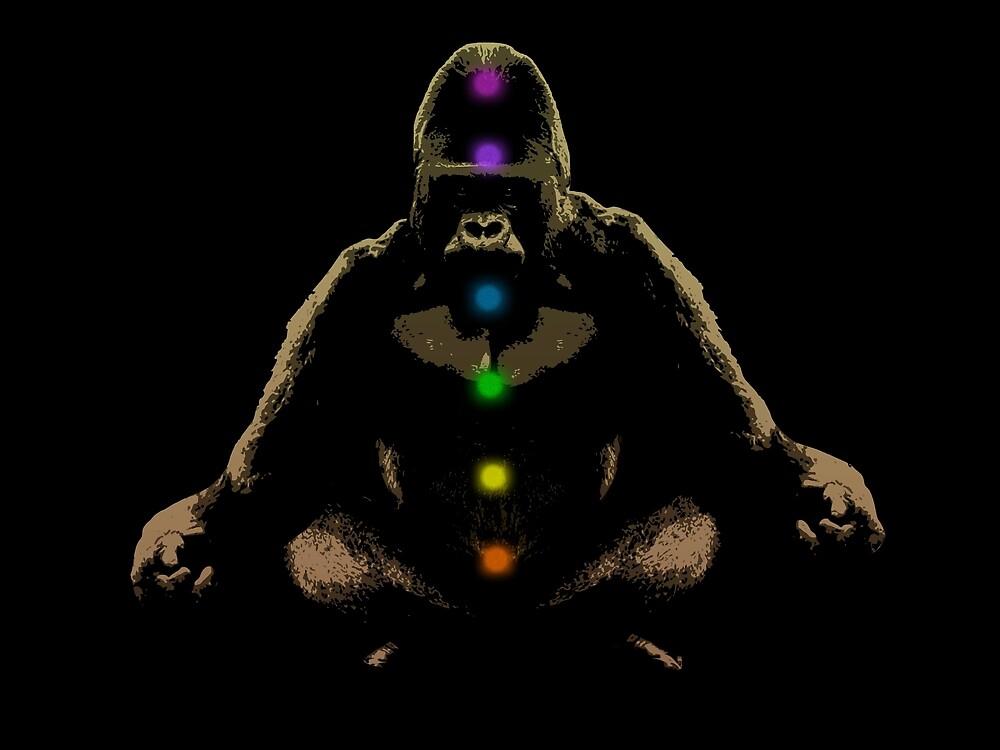 Ape Ascending by Bronzarino