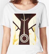 Naruto Uzumaki Nine Tailed Beast Chakra Mode Women's Relaxed Fit T-Shirt