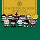 O'BABYBOT Teachers from Pochemuchka School in O'ville by Carbon-Fibre Media
