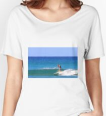 Surfing Waikiki Women's Relaxed Fit T-Shirt