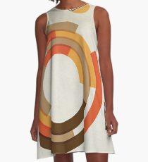 Modernist Vinyl A-Line Dress