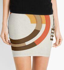 Modernist Vinyl Mini Skirt