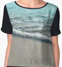 Sea Foam Sand Beach Women's Chiffon Top