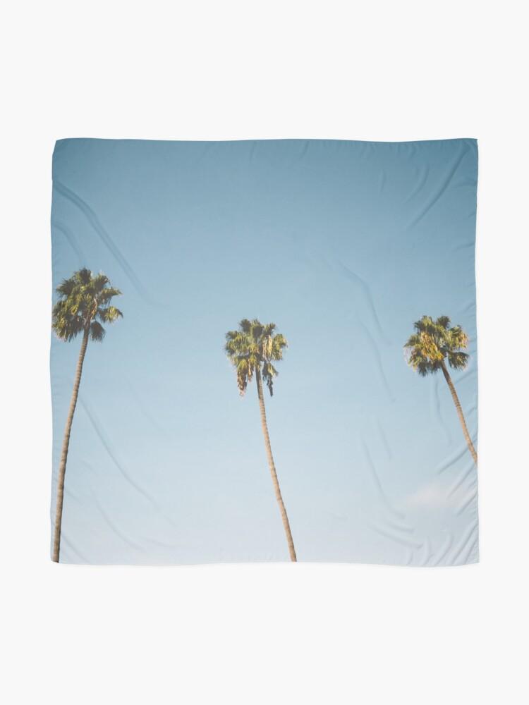 Vista alternativa de Pañuelo Tres palmeras Blue Sky California