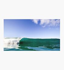 Ocean Wave Crashing to Shore Photographic Print