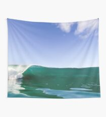 Ocean Wave Crashing to Shore Wall Tapestry