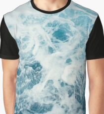 Sea Waves in the Ocean Graphic T-Shirt