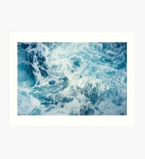 Sea Waves in the Ocean Art Print