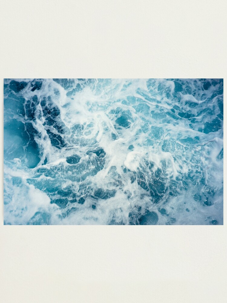 Alternate view of Sea Waves in the Ocean Photographic Print
