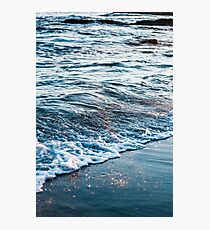 Waves Crash on the Beach Photographic Print