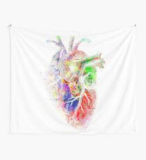 Colourful Heart Wall Tapestry