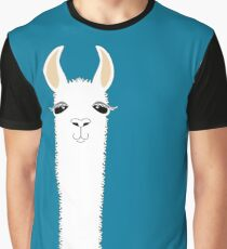 LLAMA PORTRAIT #10 Graphic T-Shirt