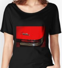 Vintage Red Corvette Stingray Women's Relaxed Fit T-Shirt
