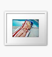 American Beauty No9060 Framed Print
