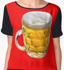 BEER (SIZE MATTERS) 2 Chiffon Top